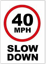 Speed Camera 40 mph Speed Reduction Wheelie Bin