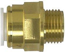 Speedfit Brass Male Coupler 22mm x 3/4Inch BSP