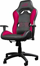 SPEEDLINK Gaming Chair, Faux Leather, Black-Pink,