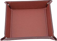 Sperrins PU Leather Coin Key Valet Tray Storage