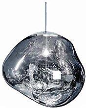 Spherical Lava Effect Small Pendant Lamp, Acrylic