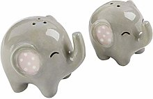 Spice and Pepper Shakers - 2pcs Ceramic Spice