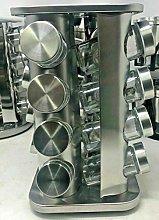 Spice Herb Storage Jar Revolving Countertop Spice