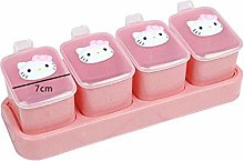 Spice Jar Box Kitchen Supplies With Lid Spice Box