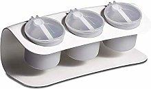 Spice Jar, Kitchen Household Seasoning Box Set, 3