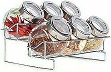 Spice Jar Seasoning Storage Container AniU
