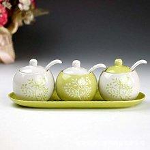 Spice Jar Wholesale Three-Piece Ceramic Spice Jar