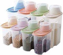Spice Jars Kitchen Storage storage jar Whole grain