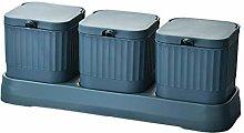 Spice Jars Set AniU Seasoning Storage Container