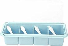 Spice Rack Organizer, BPA-Free Condiment Dispenser