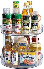 Spice Rack, Small Plastic Cupboard Storage