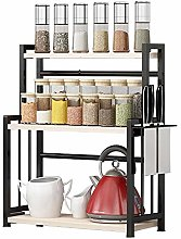 Spice Rack Spice Rack 3-Tier Detachable Seasoning