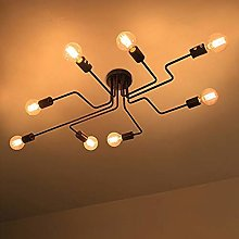 Spider Lights Ceiling 8 LIGHTESS Retro Industrial
