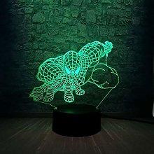 Spider Superhero 3D LED Lamp Color Lighting n