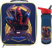 Spiderman Far Away Lunch Bag & Bottle - 600ml