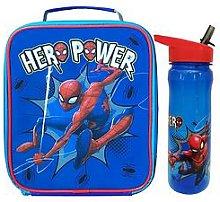 Spiderman Hero Power Lunch Bag &Amp; Bottle