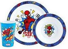 Spiderman Pop 3 Piece Tableware Set