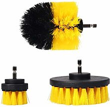 spier 3Pcs/Set Electric Scrubber Brush Drill Brush
