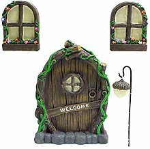 spier Fairy Elf Home Door Windows and Chandelier