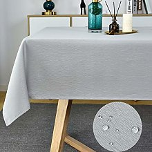 Spill Proof Table Cover-Swirl Fabric Tablecloth