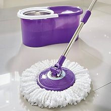 Spin Mop System Purple By Coopers Of Stortford