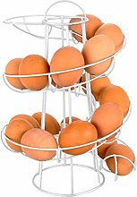 Spiral Egg Basket Egg Storage Spiral Basket Spiral