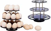 Spiral Egg Holder for 26 Eggs | Egg Display Rack