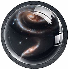 Spiral Nebula Galaxy Knob Handles Door Knobs
