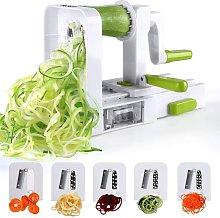 Spiralizer 4 -Blade Vegetable Spiralizer Foldable