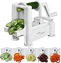 Spiralizer Best Vegetable Maker, Spiral Slicer,