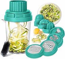 Spiralizer for Vegetables - 8 in 1 Vegetable