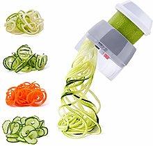 Spiralizer Handheld Vegetable Slicer Nurch 4 in 1