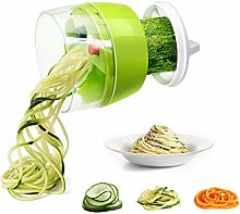 Spiralizer Vegetable Chopper, Fun Life Hand Held 4