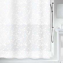 Spirella 10.19134Bang White PEVA Shower Curtain