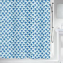 Spirella 10.19265Bluewave Blue Textile Shower