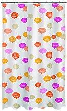 Spirella 1018686PEVA Shower Curtain with Ciao