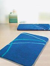 Spirella 1207838 Textile Rug Motion Leaf Green 60