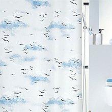 Spirella Annick Sorrento Plastic Shower Curtain