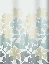 Spirella Fleury Shower Curtain, Polyester Taupe,