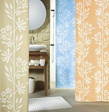 Spirella Fresh Salmon Textile Curtain 180 x 200