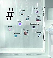 Spirella Hashtag Collection, Textile Shower