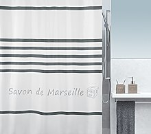 Spirella SORMIOU Shower Curtain 180 x 200 cm,