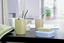 Spirella Tabletop Accessory Retro Pastel Tea Green