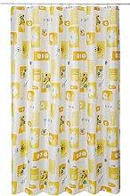 Spirella Textile Curtain Daysi Yellow 180 x 200