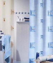 Spirella Textile Curtain Elba Sky 180 x 200