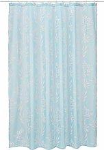 Spirella Textile Curtain Fresh Light Blue 180 x