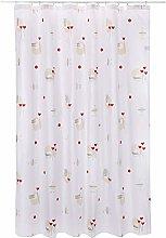 Spirella Textile Curtain FURO CHAMPAGNE 180 x 200