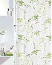 Spirella Textile Curtain Mount Grey 180 x 200