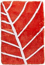 Spirella Textile Rug Leaf Tomato 60X90 1212209,
