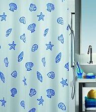 Spirella Textile Shower Curtain Concha Marine